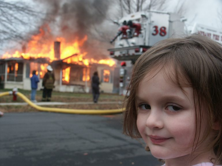 Disaster Girl Meme Sold US$500,000 NFT
