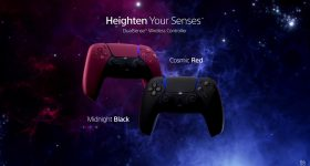DualSense Cosmic Red Midnight Black