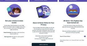 Fitbit Snore & Noise Detect