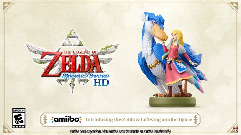 Legend of Zelda Skyward Sword amiibo