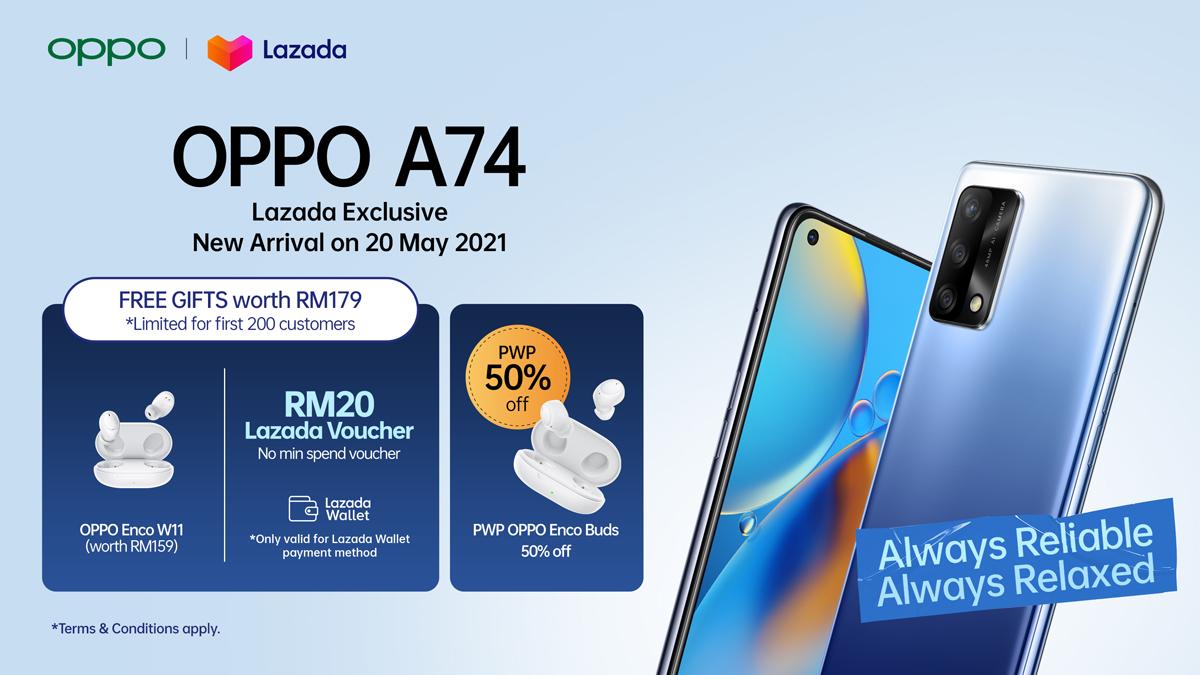 OPPO A74 4G Malaysia