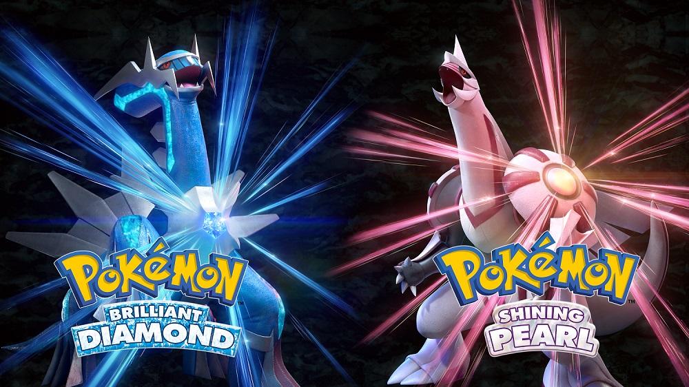 Pokemon Brilliant Diamond Shining Pearl