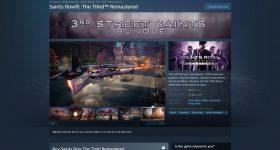 Saints Row 3 remastered steam