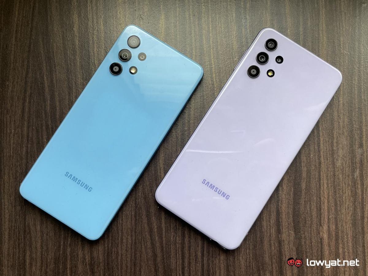 Samsung Galaxy A32 5G Camera