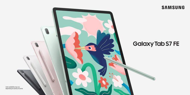 Samsung Galaxy Tab S7 FE Official