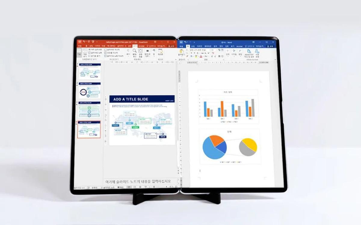 Samsung S-Foldable Smartphone Prototypes Display Week