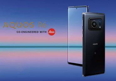 Sharp Aquos R6 Leica camera flagship smartphone