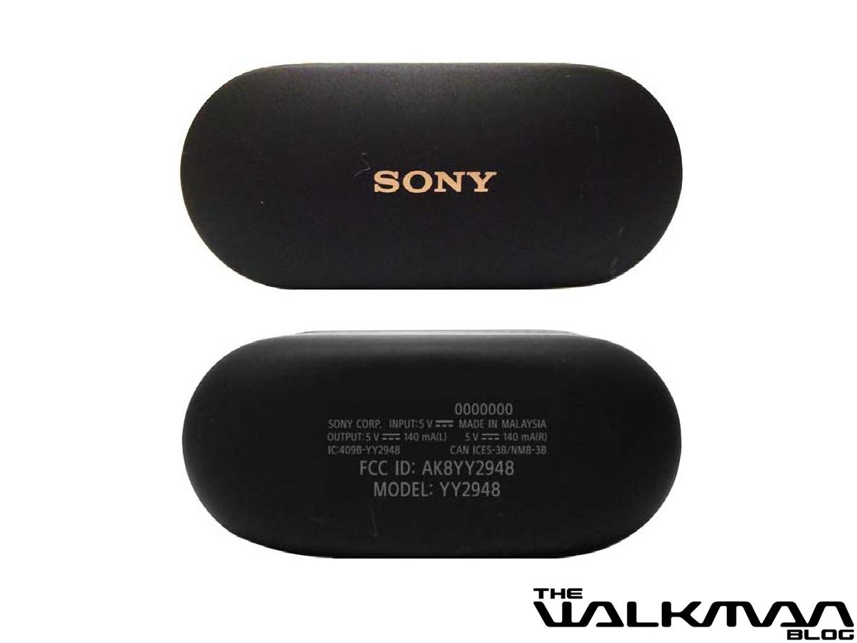 Sony WF-1000XM4 earbuds charging case leaks June