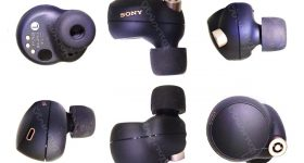Sony WF-1000XM4 earbuds charging case leaks June