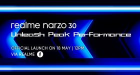 realme Narzo 30 Offical Announcement