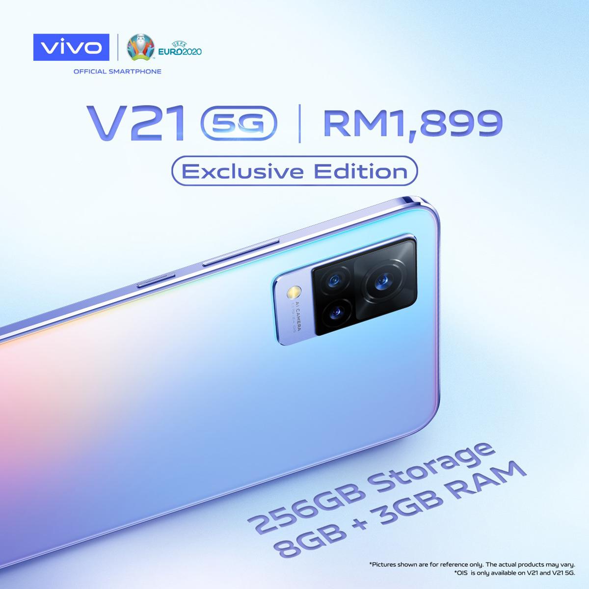vivo v21 exclusive edition malaysia launch