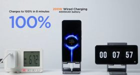 xiaomi 200w 120w fast charging wired wireless technology