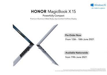 HONOR MacigBook X15