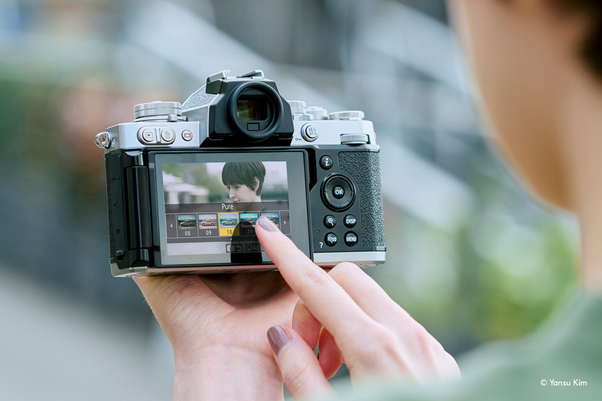 Nikon Z FC Retro-Inspired Vintage Mirrorless Camera Official
