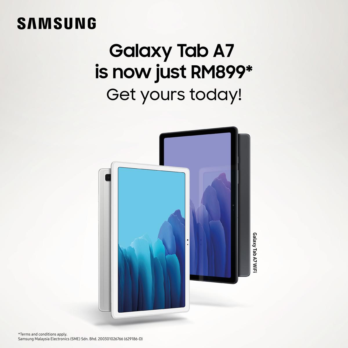 Samsung Galaxy Tab A7 Lite Launches Malaysia 1