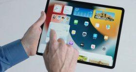 iPadOS 15 widget