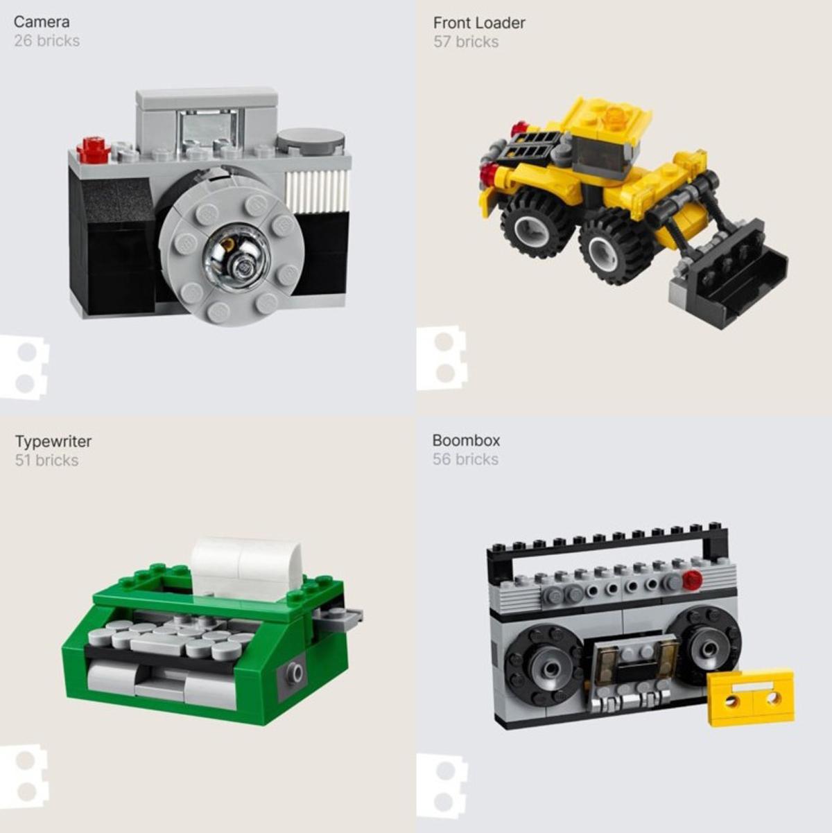 Brickit App iOS iPhone Lego