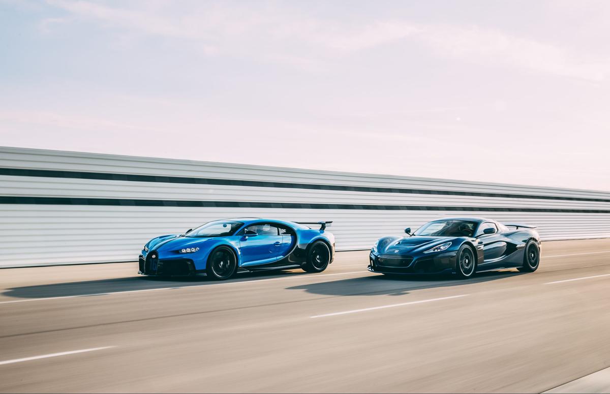 Rimac-Bugatti Rimac Bugatti Volkswagen Porsche Joint venture