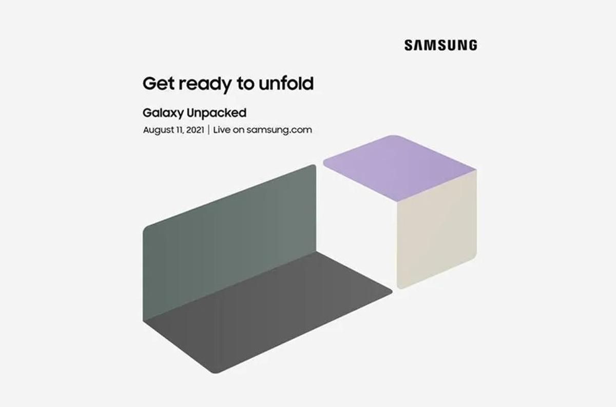 Samsung Galaxy Unpacked Event 11 August Z Fold3 Flip3