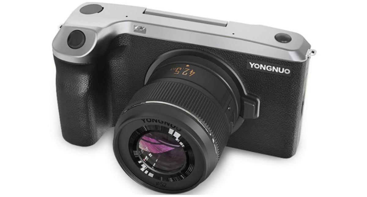 Yongnuo YN455 Android Mirrorless Camera China M43