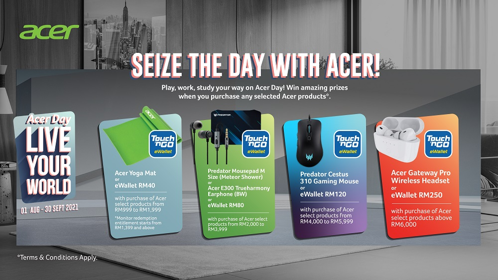 Acer day campaign