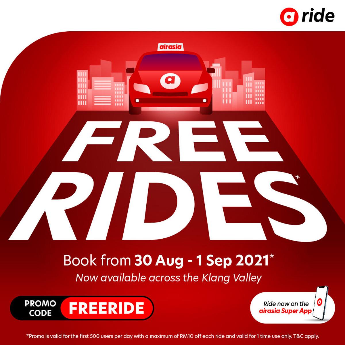 AirAsia Ride Discount Promotion