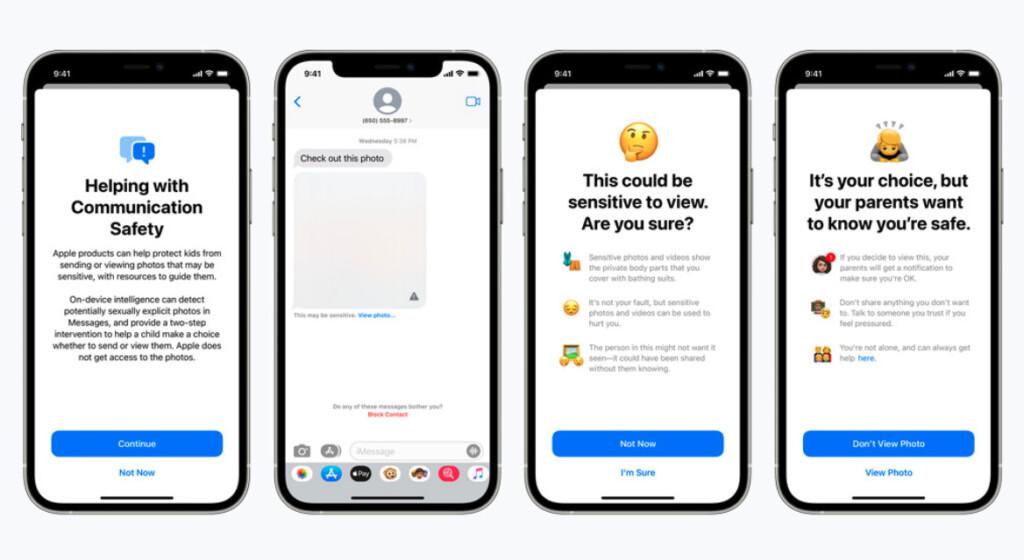 Apple messages CSAM