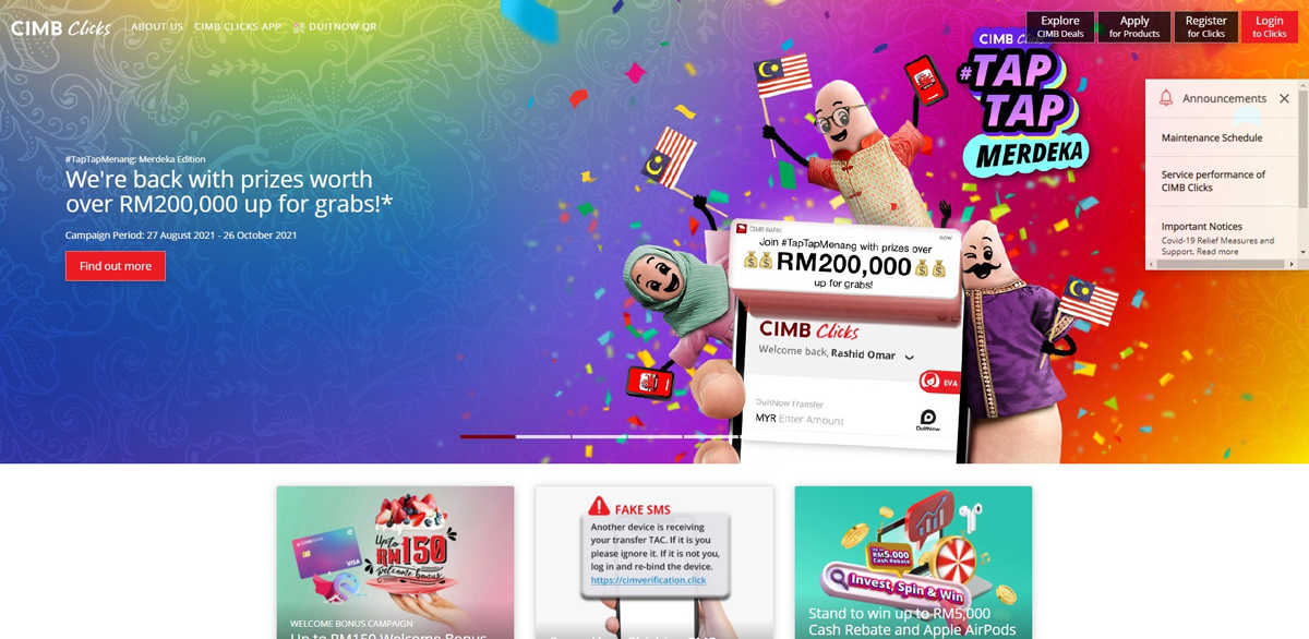 CIMB Clicks Convenience Updated Features Functions
