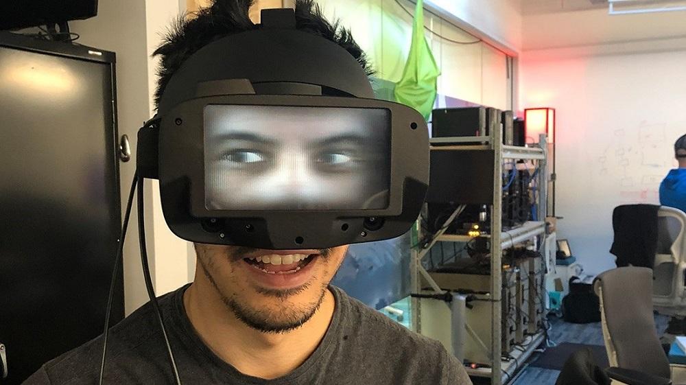 Facebook reverse passthrough VR 2