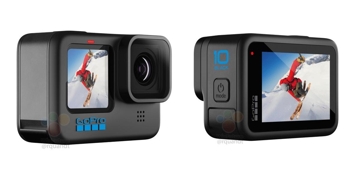 GoPro Hero 10 Black Leak Specs Design