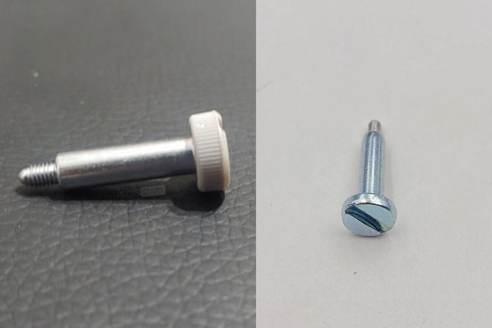 PS5 new screw vs old