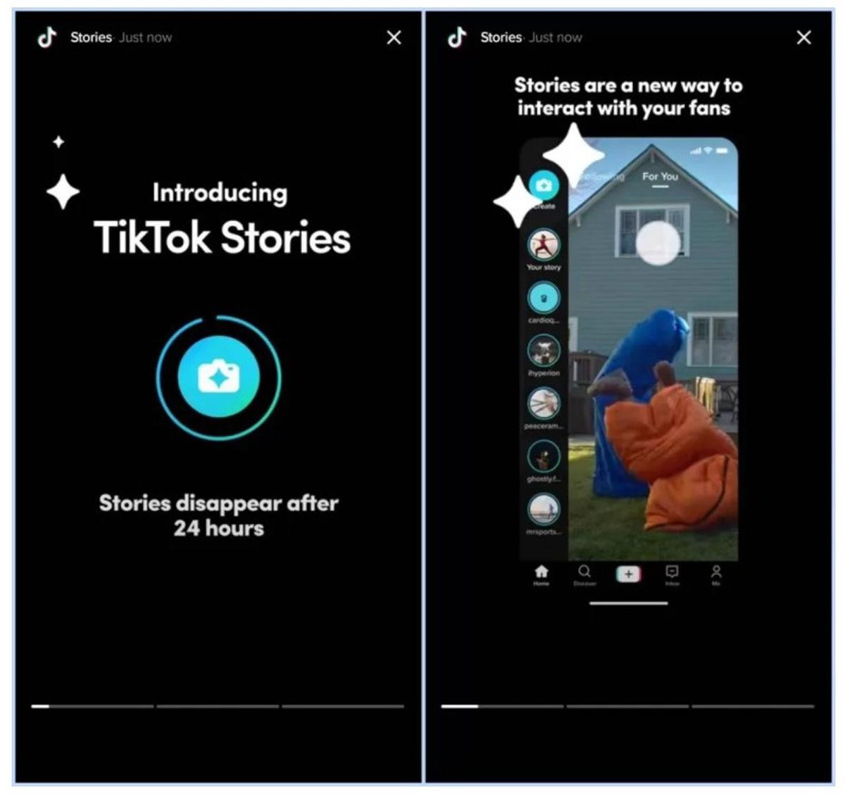 TikTok Testing Stories Feature On Platform App