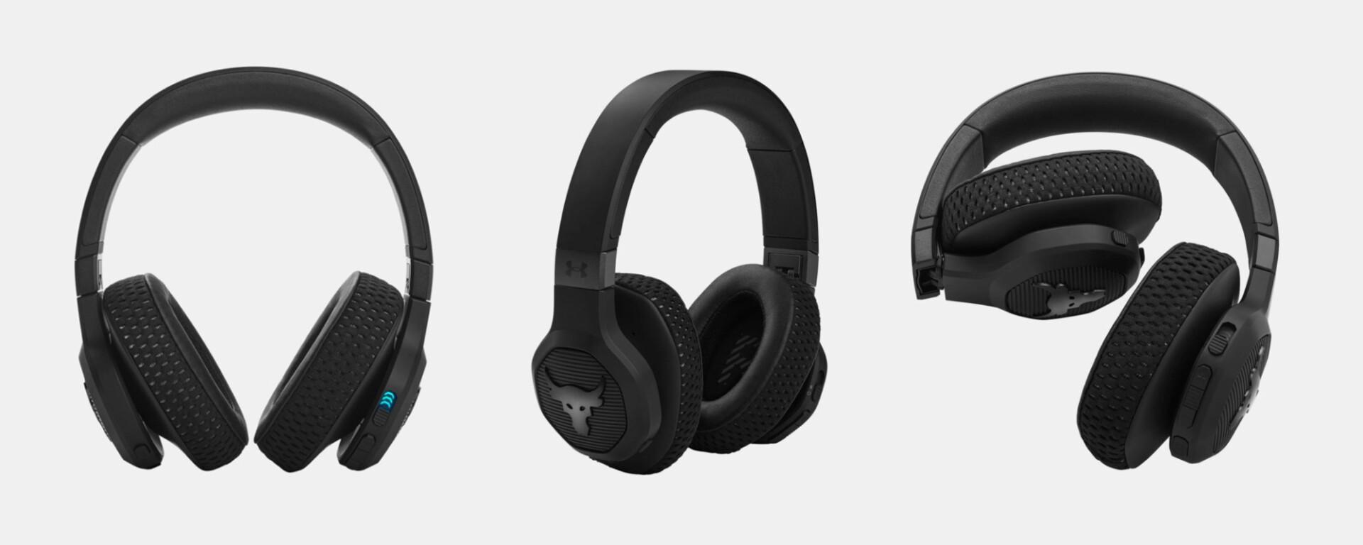 Under Armour Project Rock Headphones JBL