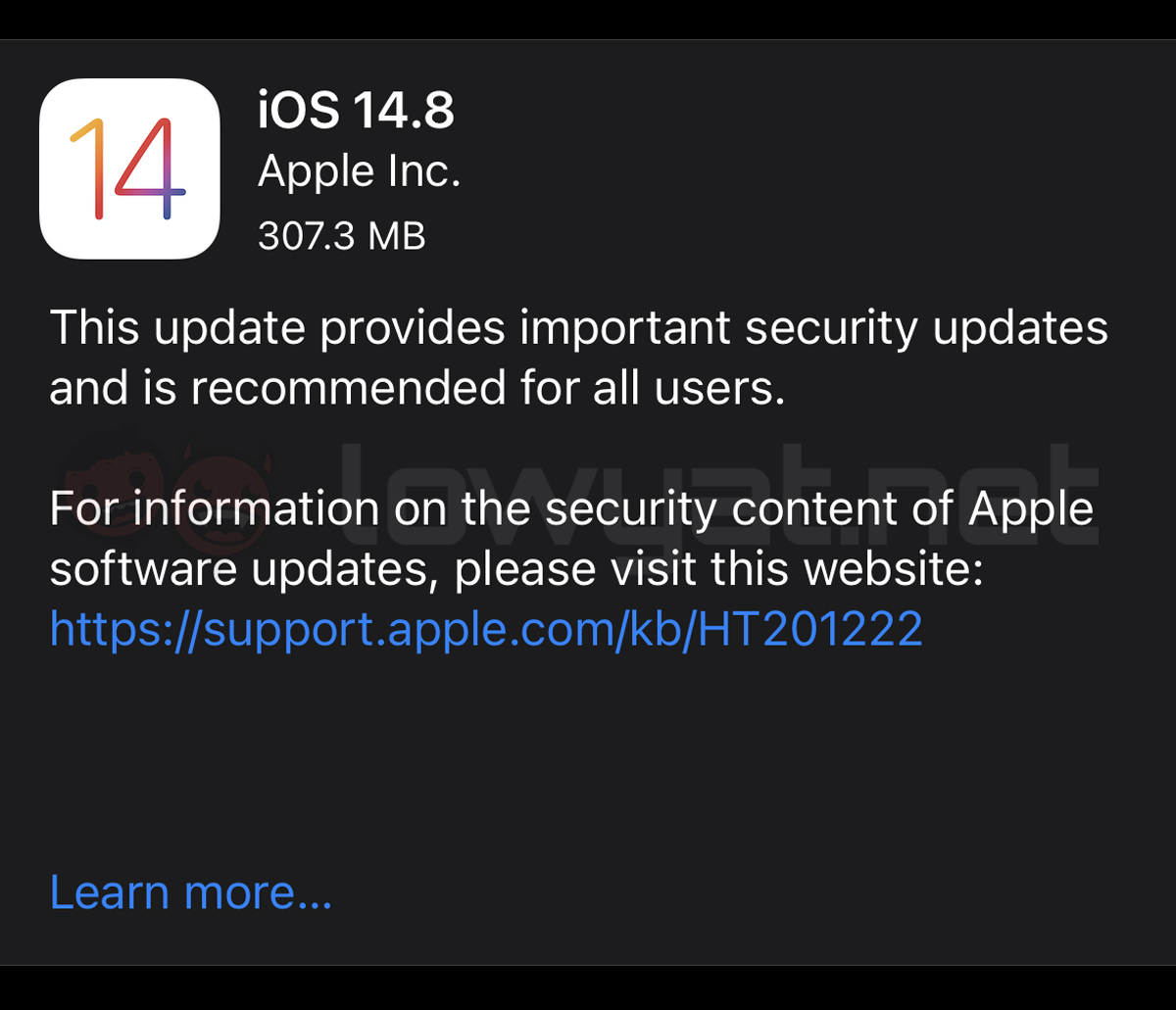 Apple Addresses Critical Security Loopholes Firmware Update