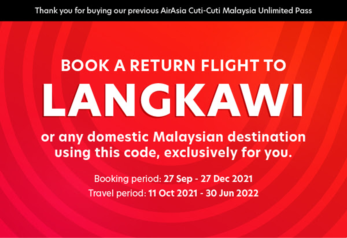 Free flights for all AirAsia Unlimited Pass holders