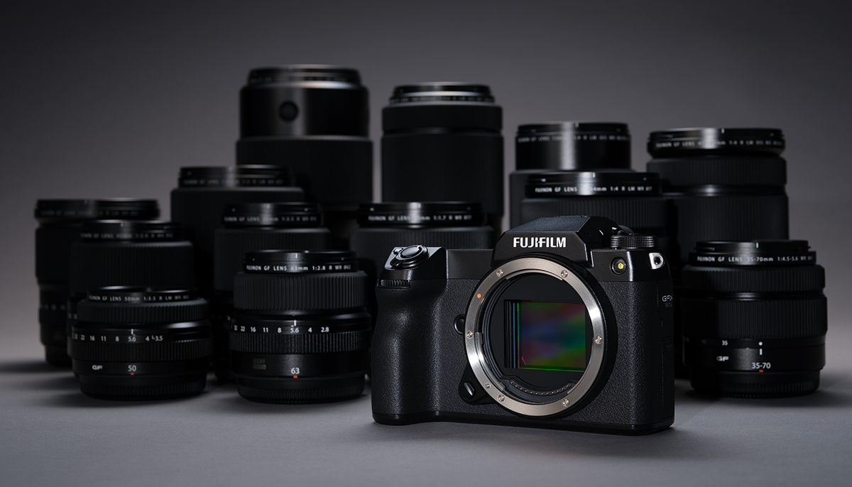 Fujifilm GFS 50s II medium format mirrorless camera