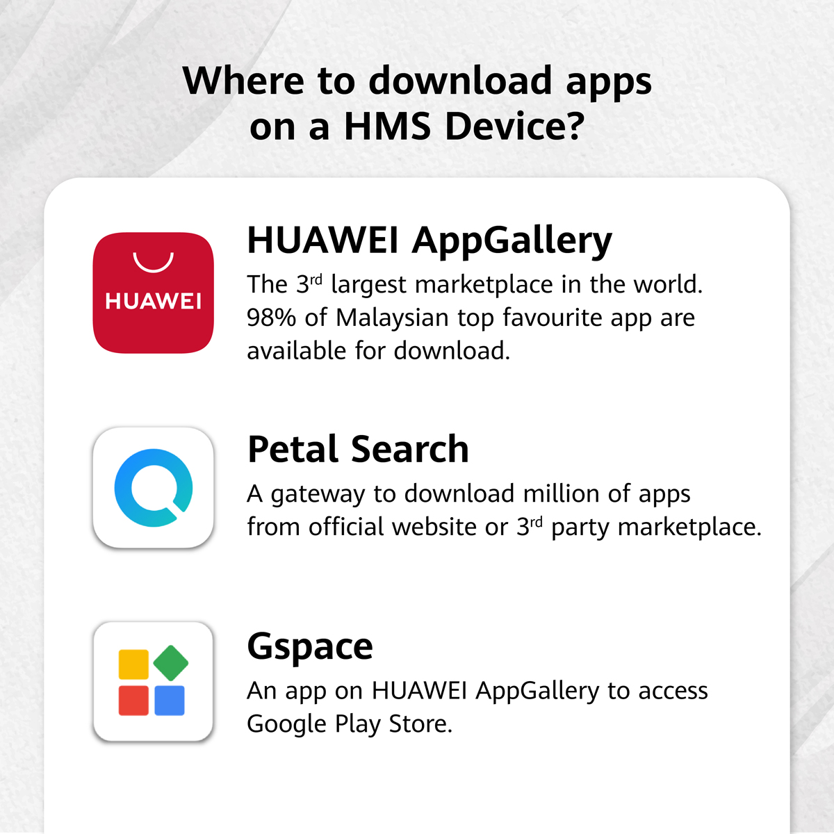 HMS Huawei Mobile Services