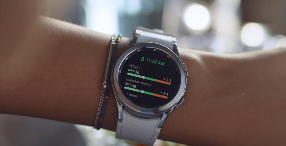 Samsung Galaxy Watch4 skeletal muscle