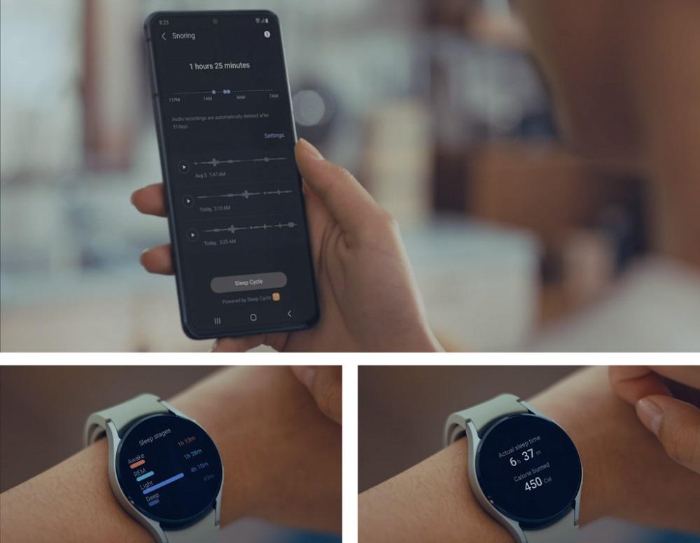 Samsung Galaxy Watch4 sleep