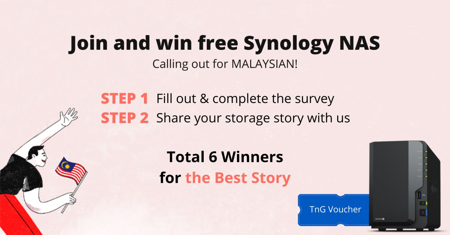 Synology Contest Sept 2021 how to win
