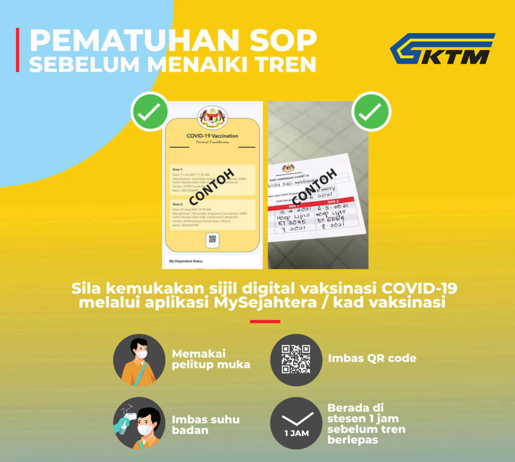 KTM ETS Fully Vaccinated Rules