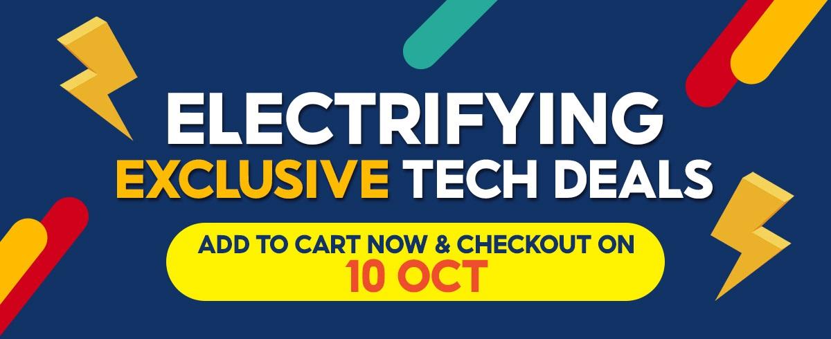 Shopee 10.10 Electrifying Exclusive Tech Deals