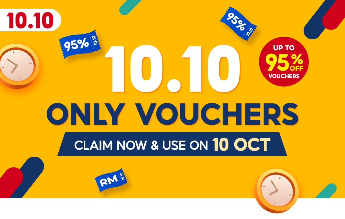 Shopee 10.10 Only Vouchers