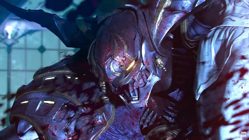 Stranger of Paradise Final Fantasy Origin Garland closeup