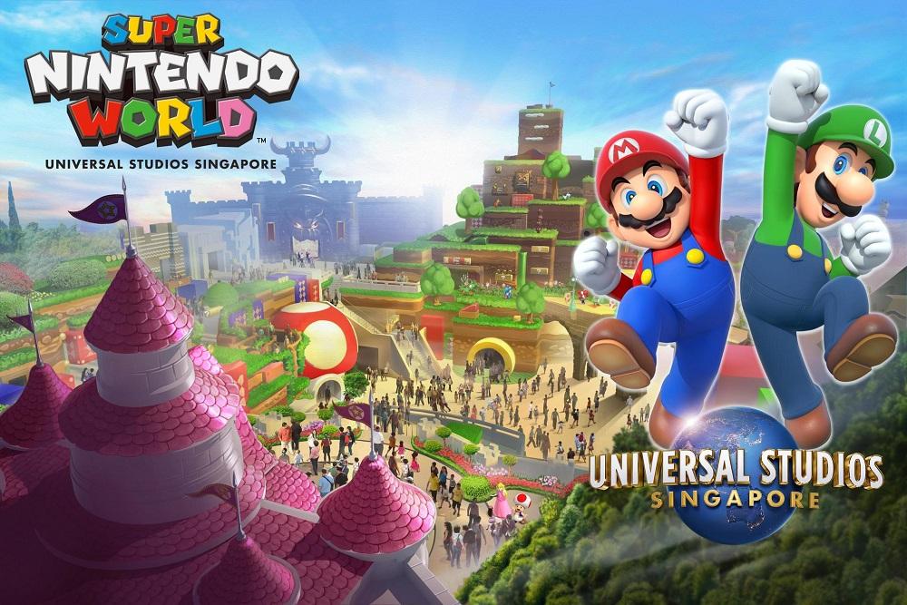 Super Nintendo World Universal Studios Singapore
