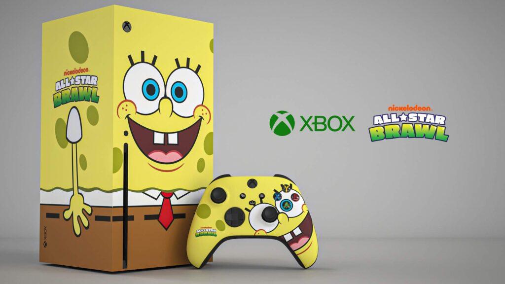 Xbox Series X Spongebob