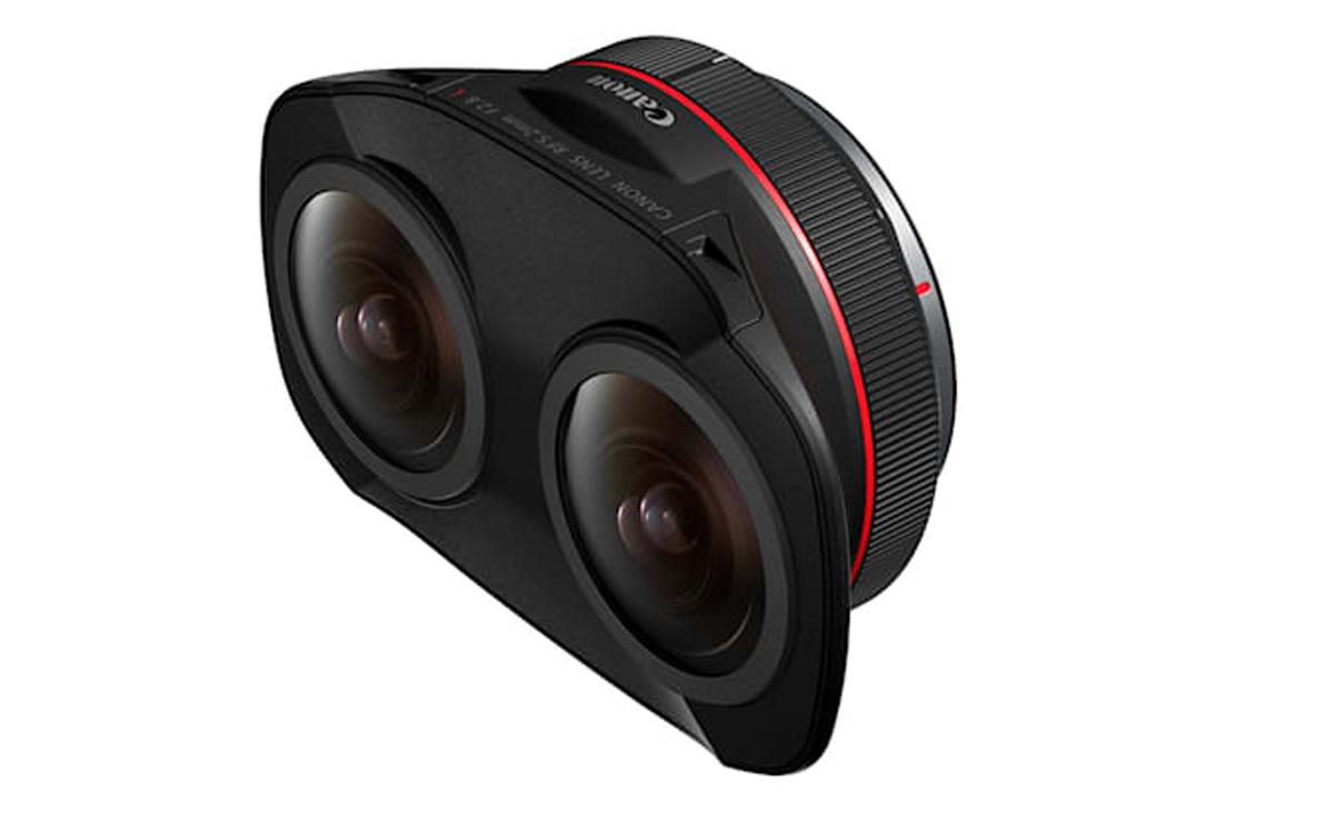 canon dual fisheye VR AR lens RF mount