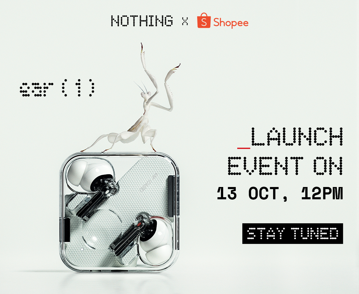 nothing ear 1 launch october malaysia